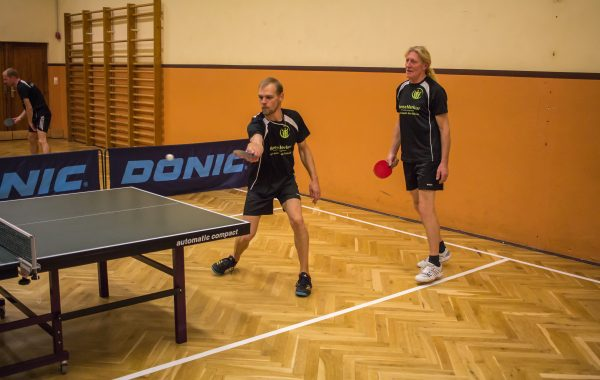 Tischtennis, Training der I. & II. Mannschaft 2017