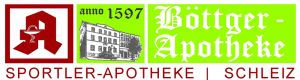 Unser Sponsor Böttger Apotheke in Schleiz