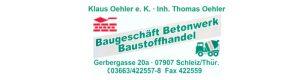 Unser Sponsor Baugeschäft Oehler