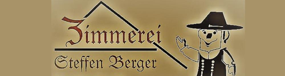 Unser Sponsor Zimmerei Berger